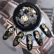Bluelover 3D DIY Steampunk Mechanical Component Gear Wheel Nail Art Decoration Tips Metal Design Accessories