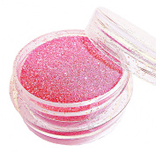 "SHOCKING PINK Christmas Glitter - Full 3gms of ""Glitz Glitter"" Decoration Glitter Dust Powder Pots by Busy Bits - FREE POSTAGE"
