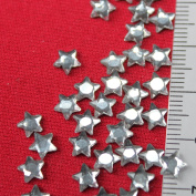 Strass Hotfix Stars 6x6 mm Glass 90 Pieces Colour Crystal Bling