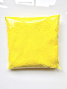 Canary Pastel Yellow Glitter Powder Dust Fairy Arts Crafts Wine Glass Florist Nails Body 100g Bag
