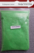 25g PASTEL GREEN GLITTER - AVAILABLE IN 25g 50g 100g - THIS GLITTER IS PRODUCED AND PACKAGED ESPECIALLY FOR POLYBAGSTORES LIMITED®