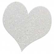 Knorr Prandell 1519677 Embossing Powder 10 g Pot, Glitter Silver
