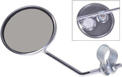 Gravidus Chrome Bike mirrors Rear view mirror round ø 75 mm