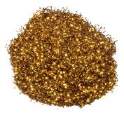 Mould Master Hexagonal Glitter, PVC, Orange, 23 g