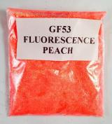 (GF53 – FLUORESCENCE PEACH 20G ) GLITTER NAIL ART COSMETIC CRAFT FLORIST WINE GLASS GLITTER TATTOO