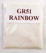 (GR51 – RAINBOW 100G ) GLITTER NAIL ART COSMETIC CRAFT FLORIST WINE GLASS GLITTER TATTOO