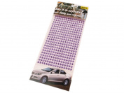 352 5 mm Self-Adhesive Mosaic Tile Crystal Rhinestone Gems Cards, Available in a Range of Colours mauve