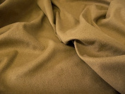 Faux Suede Suedette Fabric Material STRETCHY TAN - All Sizes Bulk Discounts