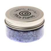 Cosmic Shimmer Mica Flakes - Midnight Blue