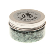 Cosmic Shimmer Mica Flakes - Myrtle Green