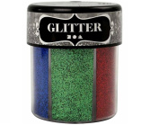 6 Colour Fine Glitter Shaker for Crafts - Brights | Craft Glitter