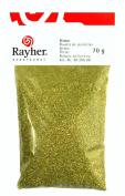 RAYHER - Flitter Glas/Alu, SB-Btl. 70 g, gold