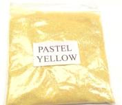 100G PASTEL YELLOW GLITTER NAIL ART CRAFT FLORISTRY WINE GLASS