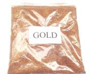 100G GOLD GLITTER ULTRA FINE WINE GLASS ART AND CRAFT NAIL ART SCRAPBOOKING NON TOXIC