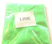20G IRIDESCENT LIME GLITTER ULTRA FINE 0.008 WINE GLASS ART AND CRAFT NAIL ART SCRAPBOOKING NON TOXIC