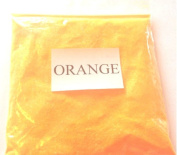 25G NEON ORANGE GLITTER ULTRA FINE WINE GLASS ART AND CRAFT NAIL ART SCRAPBOOKING NON TOXIC