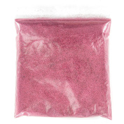 100G PINK GLITTER ULTRA FINE WINE GLASS ART AND CRAFT NAIL ART SCRAPBOOKING NON TOXIC