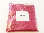 100G METALLIC ROSE GLITTER ULTRA FINE WINE GLASS ART AND CRAFT NAIL ART SCRAPBOOKING NON TOXIC