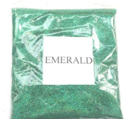 100G HOLOGRAPHIC EMERALD GLITTER ULTRA FINE 0.008 WINE GLASS ART AND CRAFT NAIL ART SCRAPBOOKING NON TOXIC