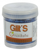Avenue Mandarine 45 g Glitter, Azur Blue