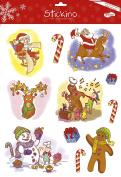 Maildor 30 x 38 cm Stickino Christmas Glitter Up Today, Multi-Colour