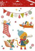 Maildor 30 x 38 cm Stickino Christmas Song, Multi-Colour