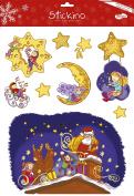 Maildor 30 x 38 cm Stickino Christmas Glitter Imps, Multi-Colour