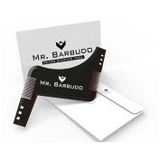 Mr. Barbudo Guide Beard Shaping Tool for Men One Size Shaving