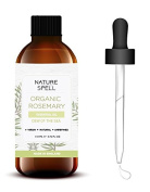 Nature Spell Rosemary Essential Oil 110 ml - Therapeutic Grade 100% Pure & Natural with Dropper