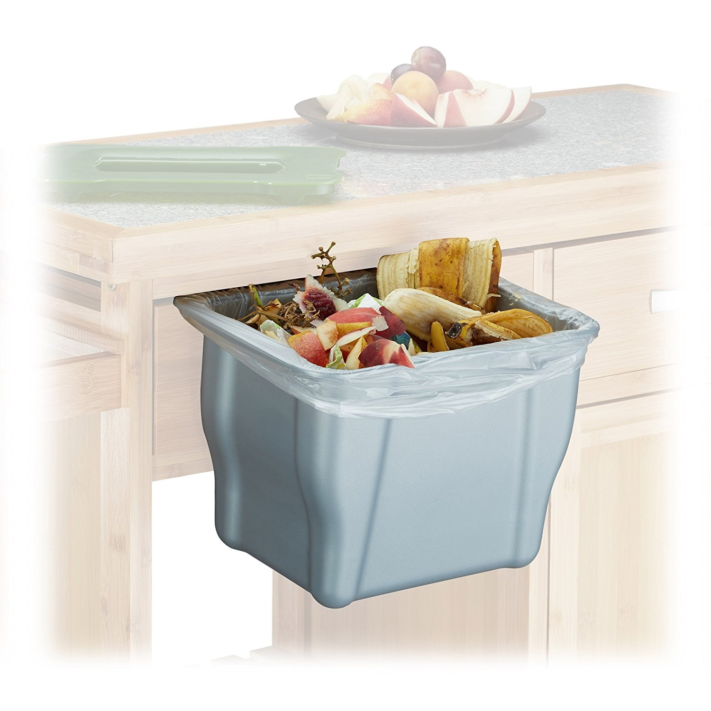 Relaxdays Kitchen Waste Bin, HxWxD by Relaxdays - Shop Online for ...