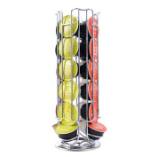 GuDoQi Coffee Capsules Holder Pod Tower Stand Rack Holds 24 Nespresso Pod