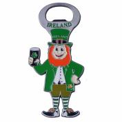 Murphy The Leprechaun Bottle Opener With Green Ireland Text