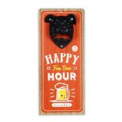 Art Deco Home - Bottle opener Happy Hour 30 cm - 12385SG