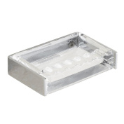 hyl Ashtray wall-mounted reversible stainless steel glass ashtray