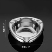 hyl Stainless Steel Ashtray Creative Triangle Smoke Cup Fashion Metal Ashtray