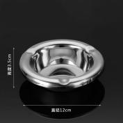 hyl Stainless Steel Ashtray Creative Round Smoke Cup Fashion Metal Ashtray