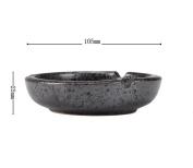 hyl Fashion creative imitation handmade ceramic round edge ashtray