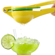 GuDoQi Premium Metal Lemon Squeezer Manual Citrus & Lime Juicer Durable & Dishwasher Safe