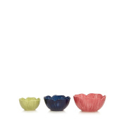 At Home With Ashley Thomas Set Of Three Multi-Coloured Measuring Cups