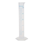 Welim Measuring Cup Lab Test Tube Graduated Cylinder Liquid Measuring Cup Plastic Measuring Tube Very suitable for the laboratory 100ML