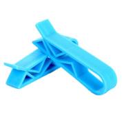 Kingken 2 Pcs Durable Plastic Rubbish Bin Garbage Bag Clamp Clip Holder