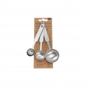 CGB Giftware Loft Kitchen Conversations Measuring Spoons (Set Of 4) (One Size)