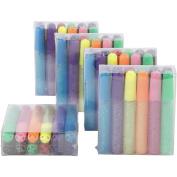 Glitter Glue, 10 ml, 60asstd