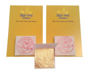24ct Pure Edible Gold Leaf | 100% Genuine Real 15 sheets