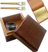 Beginners gilding kit 30 sheets gold leaf kit 24ct Gold leaf Gilding kit