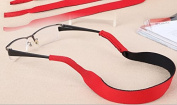 PAAITER Sunglasses Glasses Sports Band Strap Cord Chain - Red