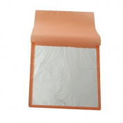 1 Booklet 25pcs/ Booklet Imitation Silver Leaf Gilding Aluminium Leaf 14X14cm