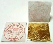 10 x 24K Gold Leaf On Base Sheets