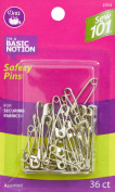 Dritz Sewing 101 Sewing 101 Safety Pins, 36 Ct. -Assorted Sizes, Assorted 36/Pkg
