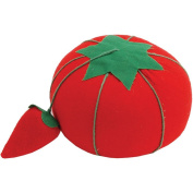Jooks Pin Cushion Tomato Pin Cushion Fully Padding Pin Cushions Crafts With Emery Sharpener For Handy Pin stock